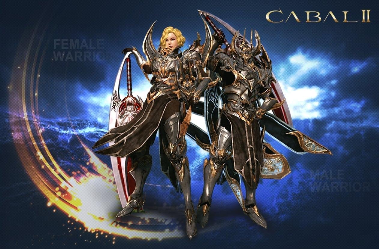 Cabal II - Male and female warrior class