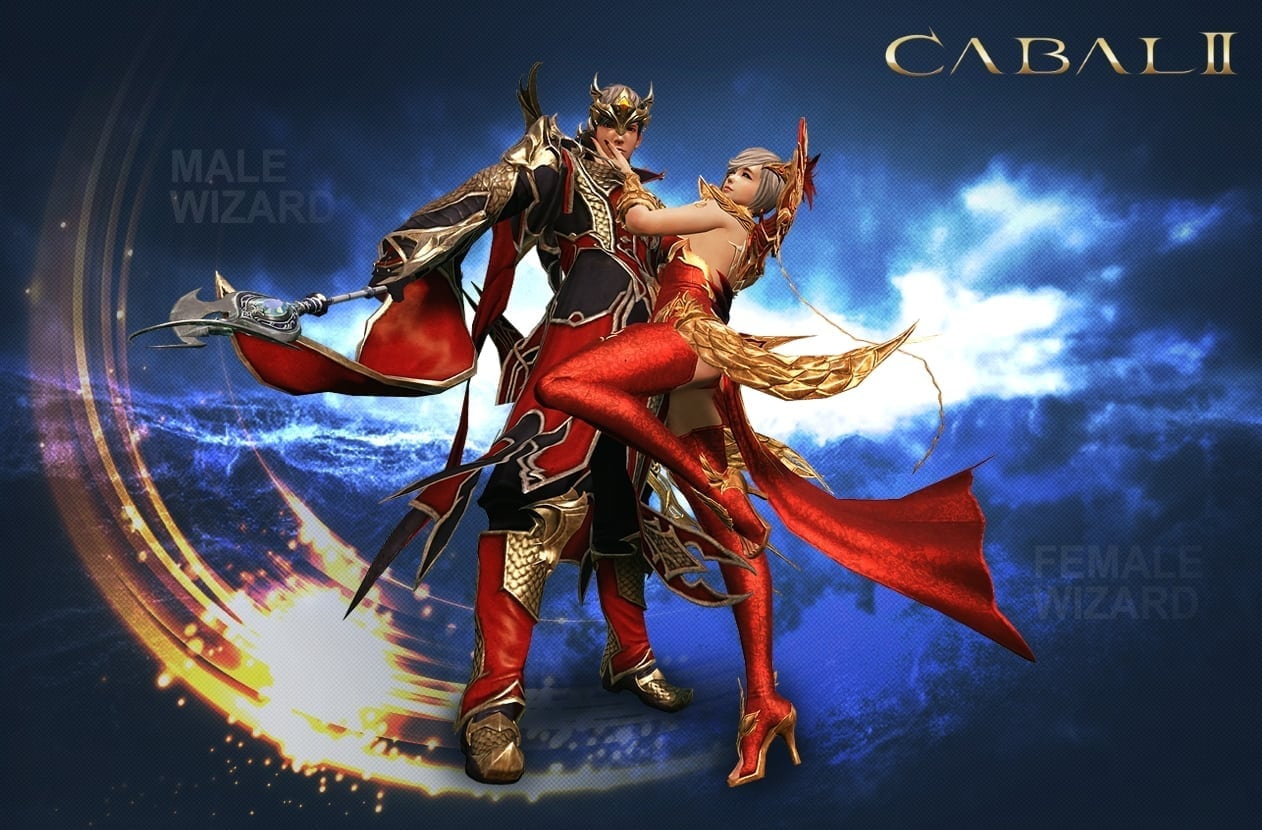 Cabal II - Male and female wizard class