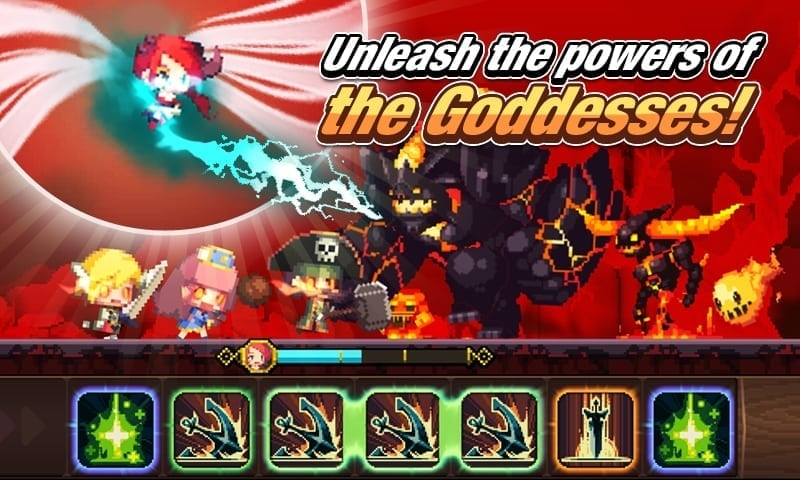 Crusaders Quest – Begin your 8-bit adventure on iOS and Android