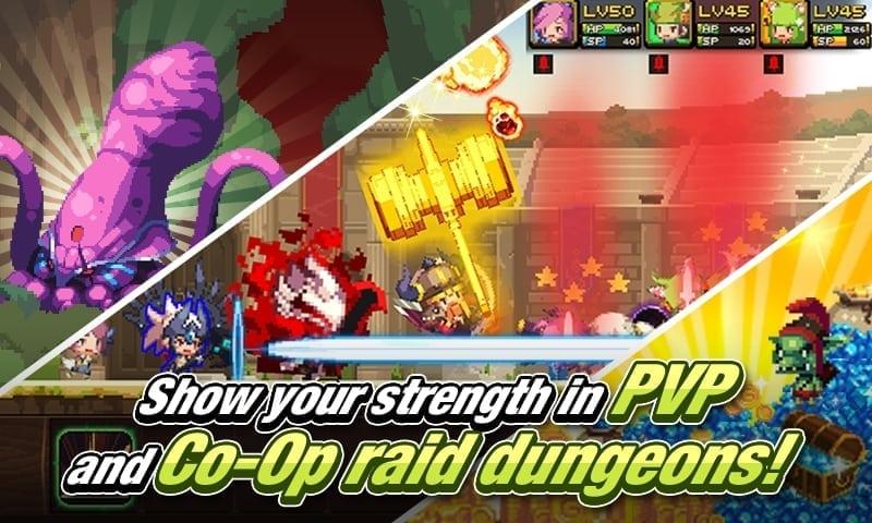 Crusaders Quest screenshot 2