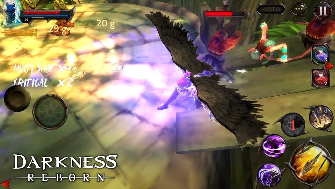 Darkness Reborn - Daemon Hunter screenshot 1