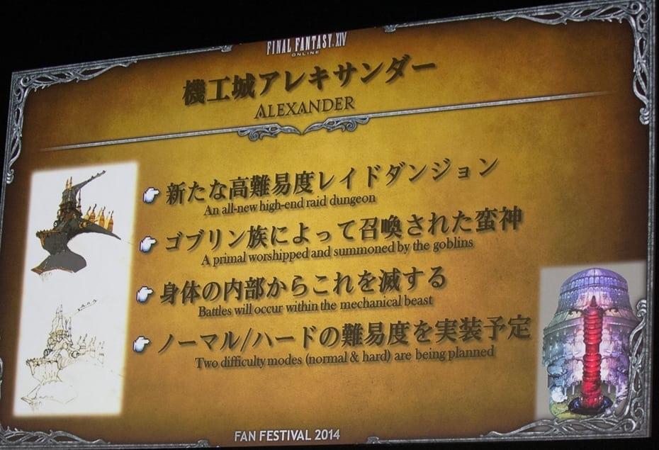 Final Fantasy XIV Heavensward - Alexander raid dungeon image 2
