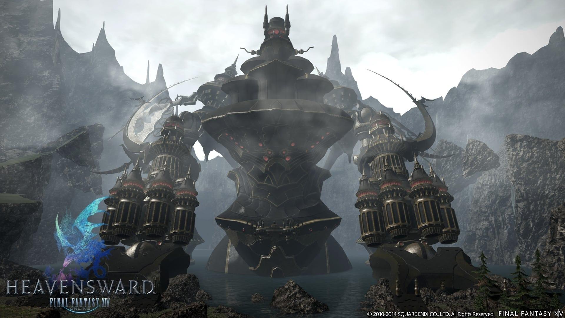 Final Fantasy XIV Heavensward - Alexander raid dungeon image 3