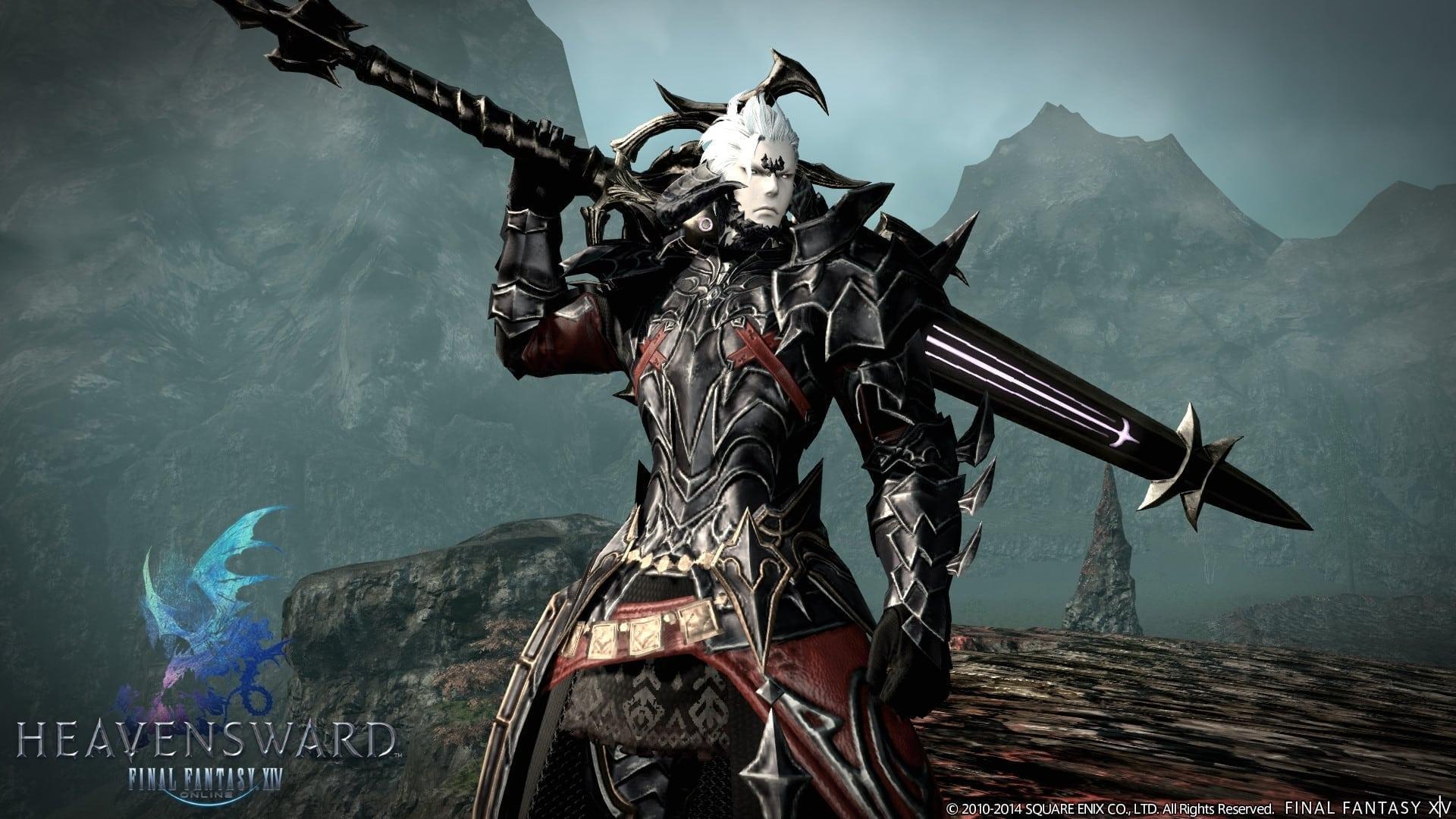 Final Fantasy XIV Heavensward - Au Ra Dark Knight image 2