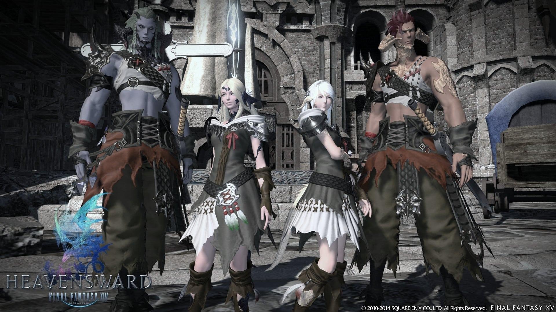 Final Fantasy XIV Heavensward - Au Ra race image 3