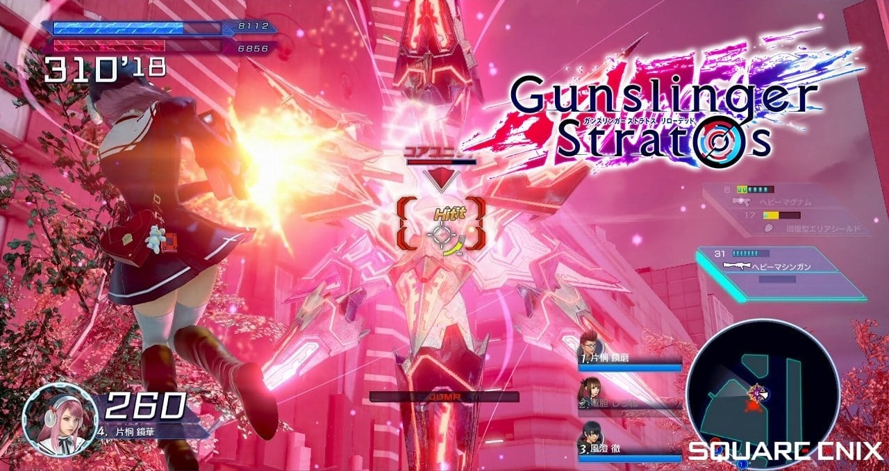 Gunslinger Stratos Reloaded screenshot 2