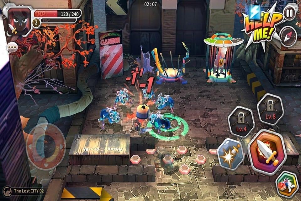 Help Me Jack Atomic Adventure screenshot 1