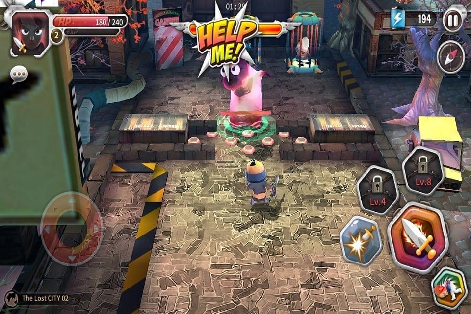 Help Me Jack Atomic Adventure screenshot 3