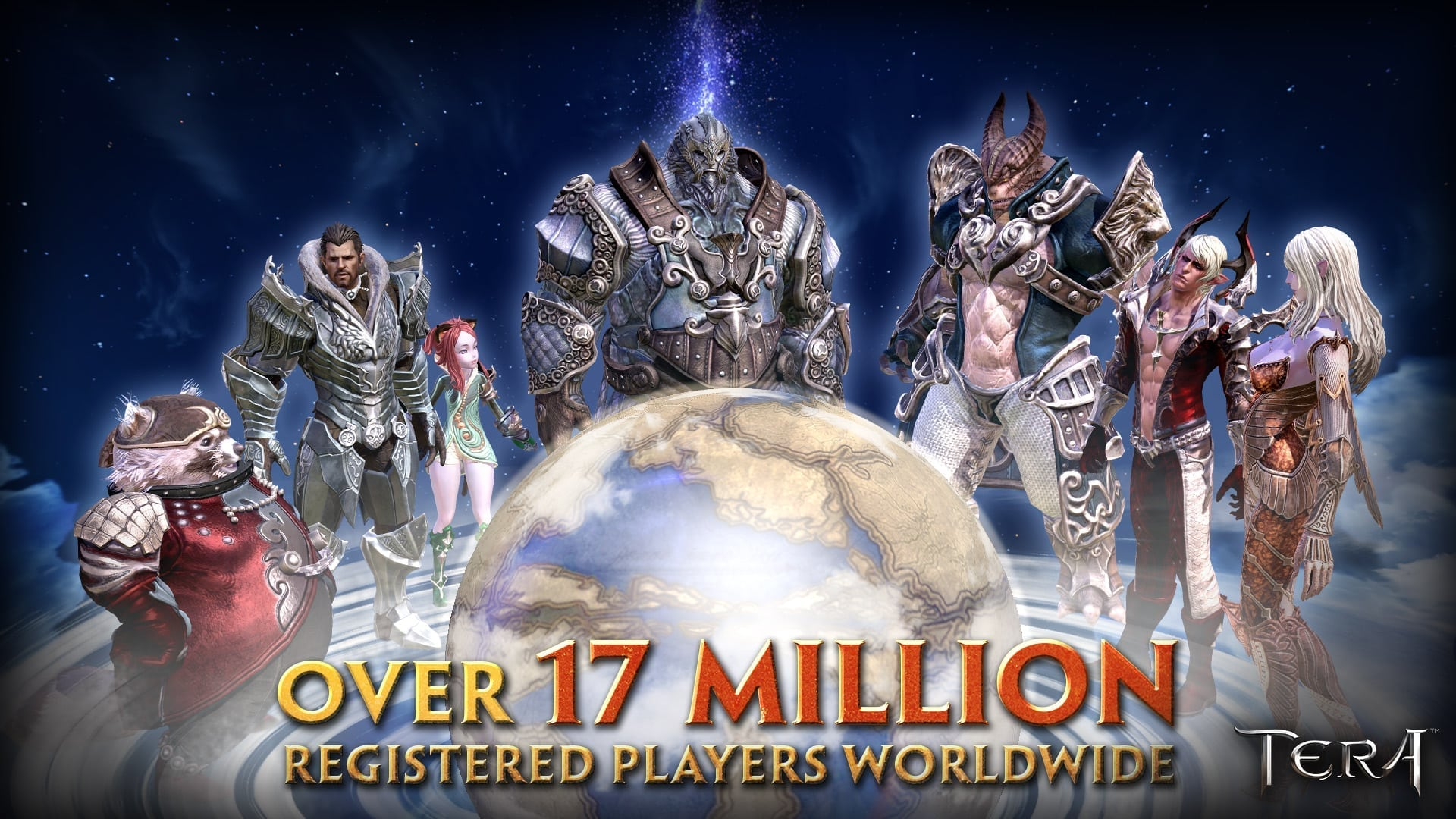 TERA - 17 million players worldwide