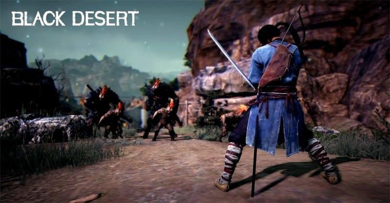 Black Desert Samurai