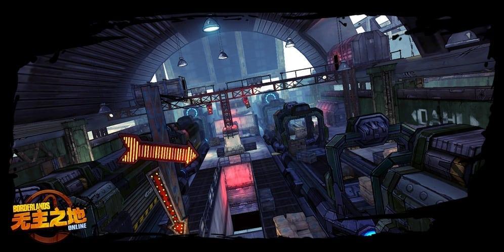 Borderlands Online environment screenshot 1
