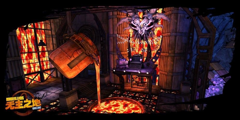Borderlands Online environment screenshot 3