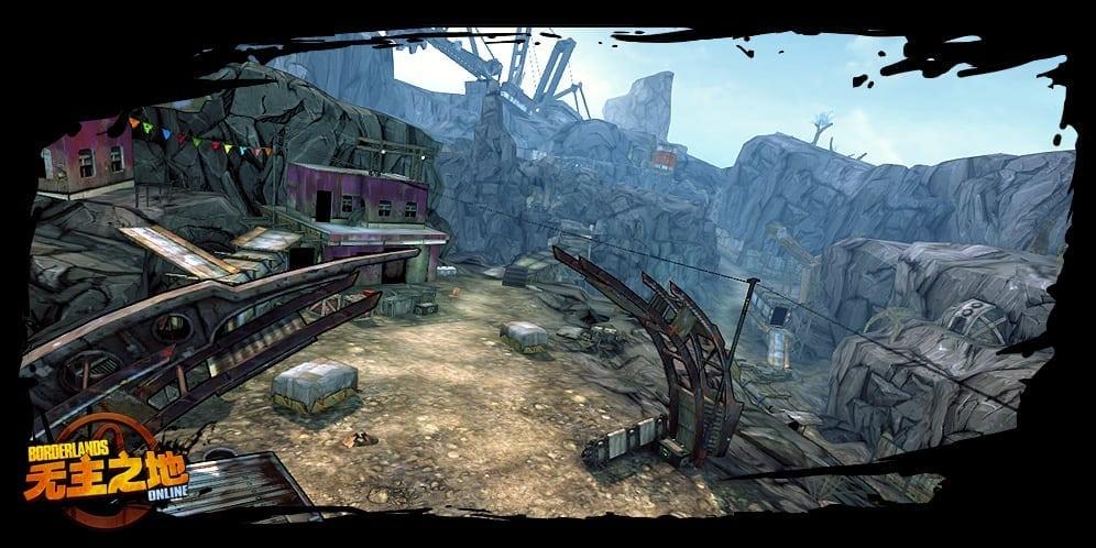 Borderlands Online environment screenshot 4