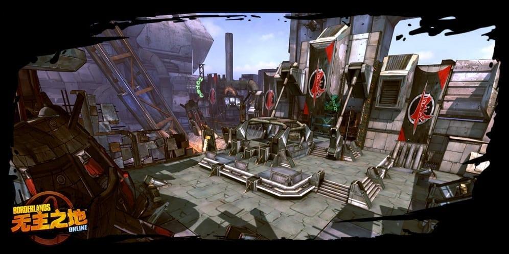 Borderlands Online environment screenshot 5