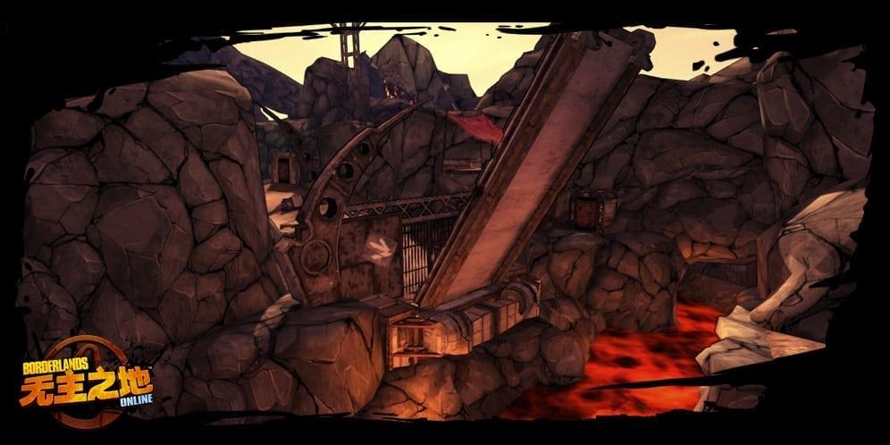 Borderlands Online environment screenshot 6