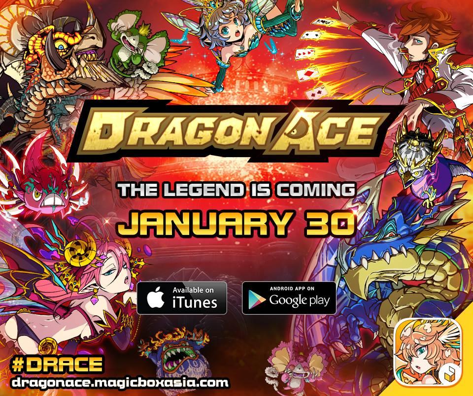 Dragon Ace launch