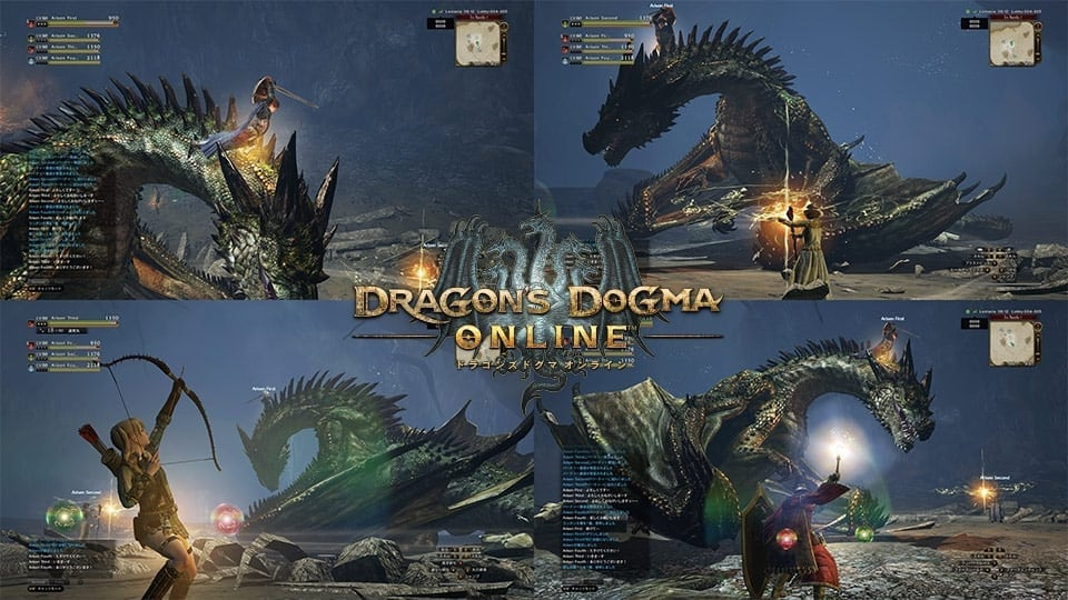 Dragon's Dogma Online - 4-player party