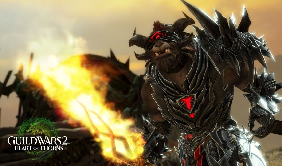Guild Wars 2 Heart of Thorns - Rytlock Brimstone