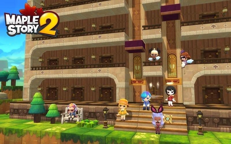 MapleStory 2 - Shared apartments screenshot 3