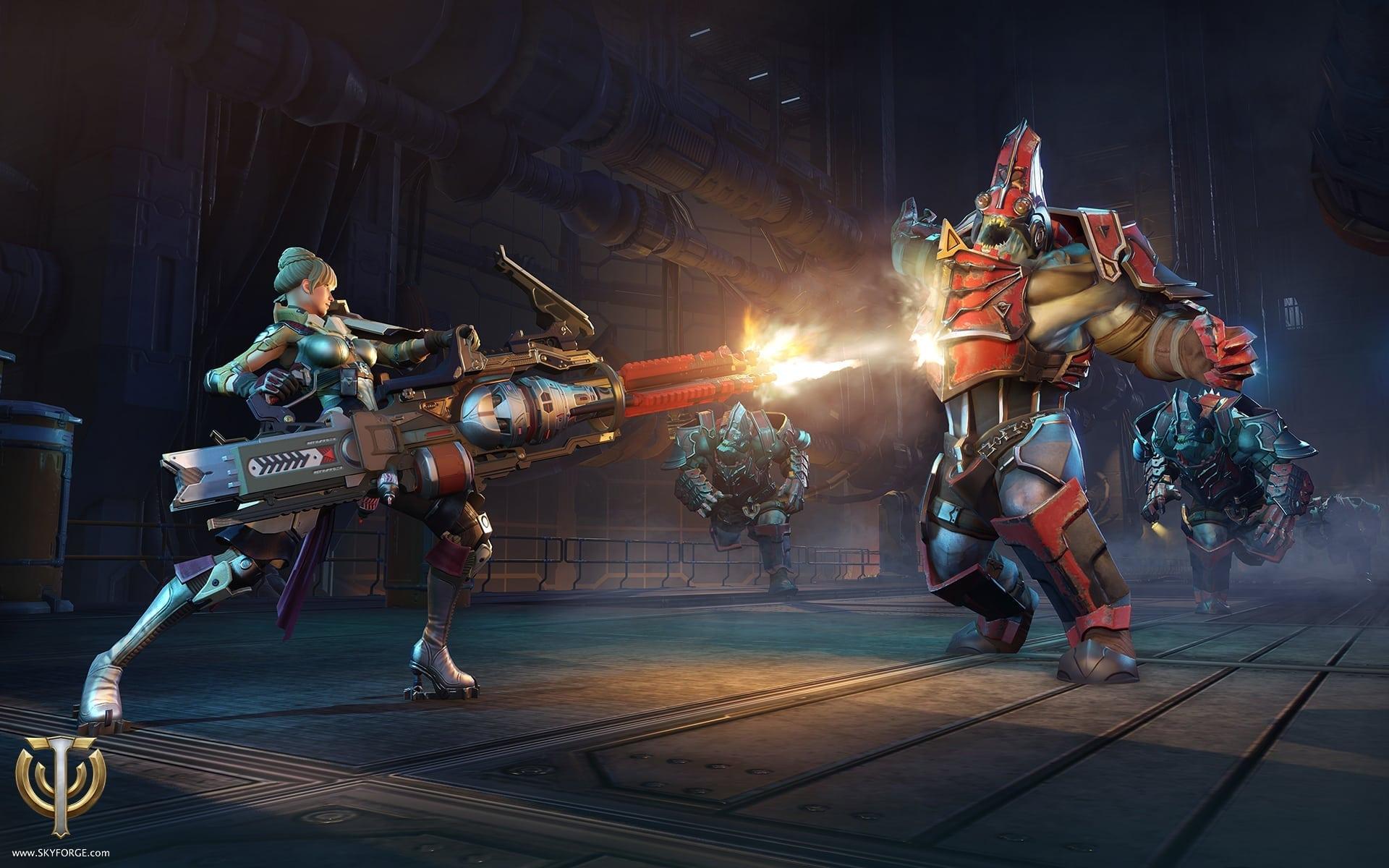 Skyforge - Gunner screenshot 1