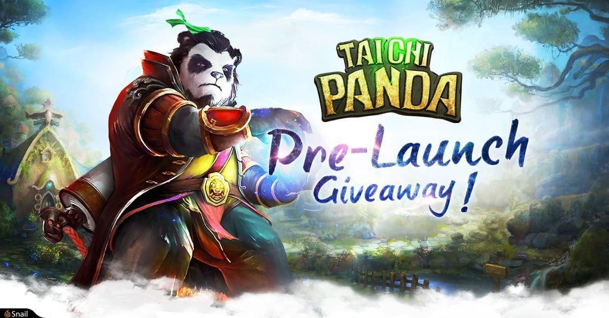 Taichi Panda giveaway