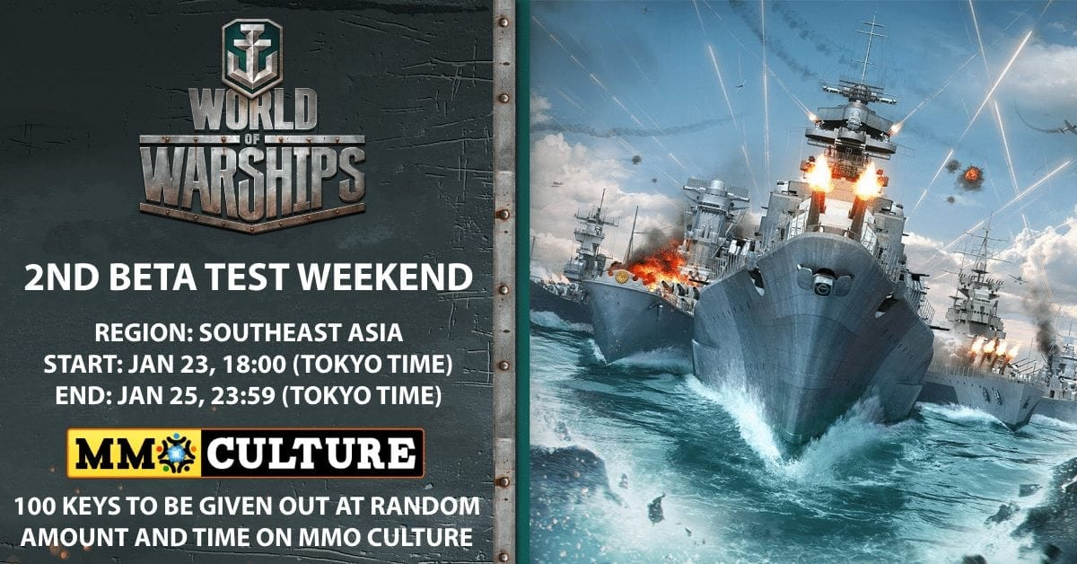 World of Warships – Second Beta Weekend keys for Southeast