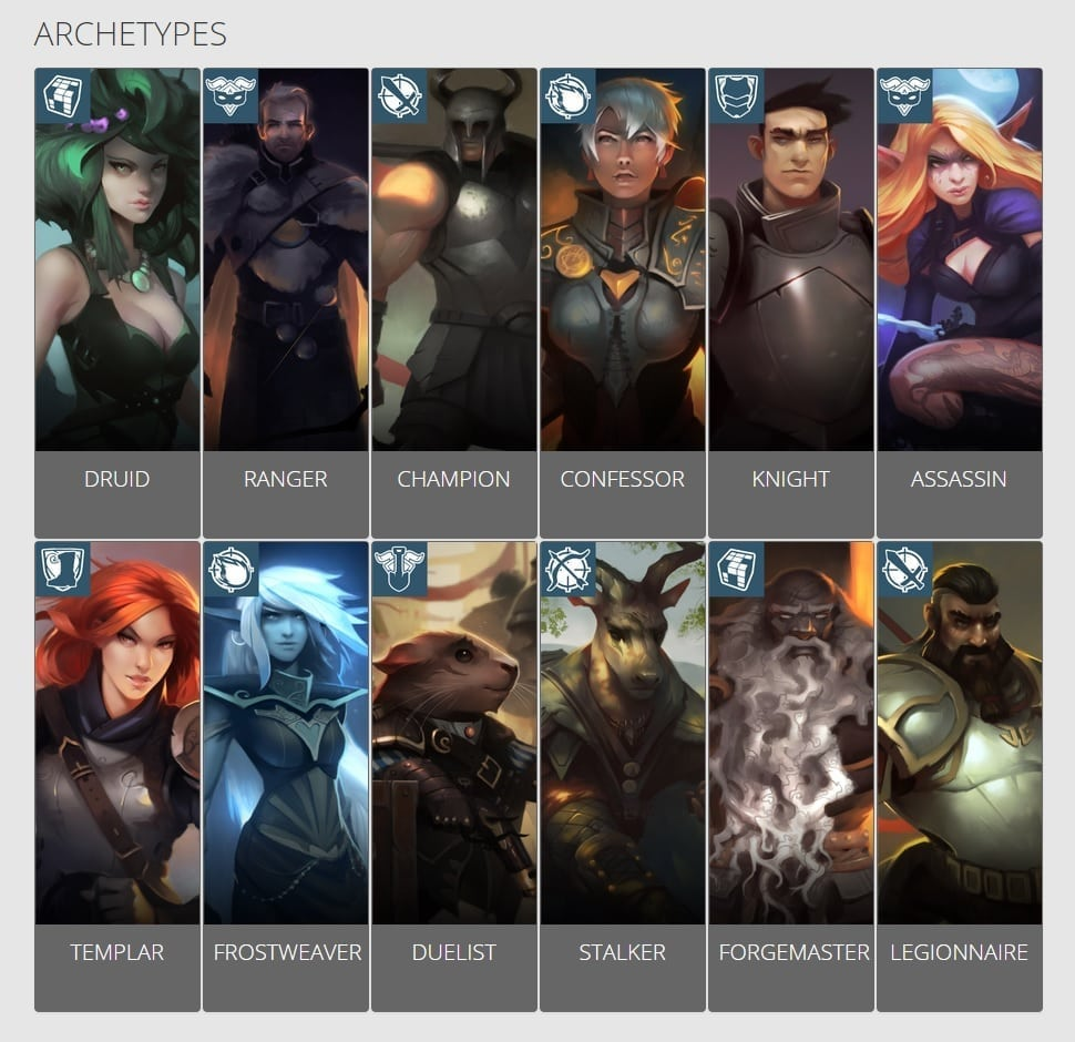 Crowfall - Archetypes
