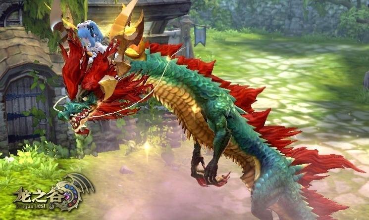 Dragon Nest China - Dragon mount screenshot 1