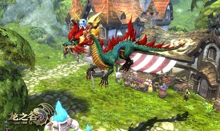 Dragon Nest China - Dragon mount screenshot 2