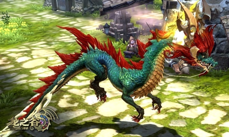 Dragon Nest China - Dragon mount screenshot 3