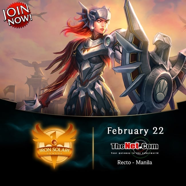 Garena LoL Iron Solari tournament