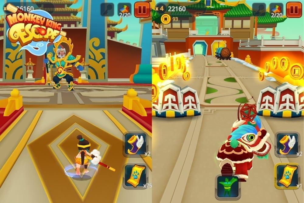 Monkey King Escape screenshot 2