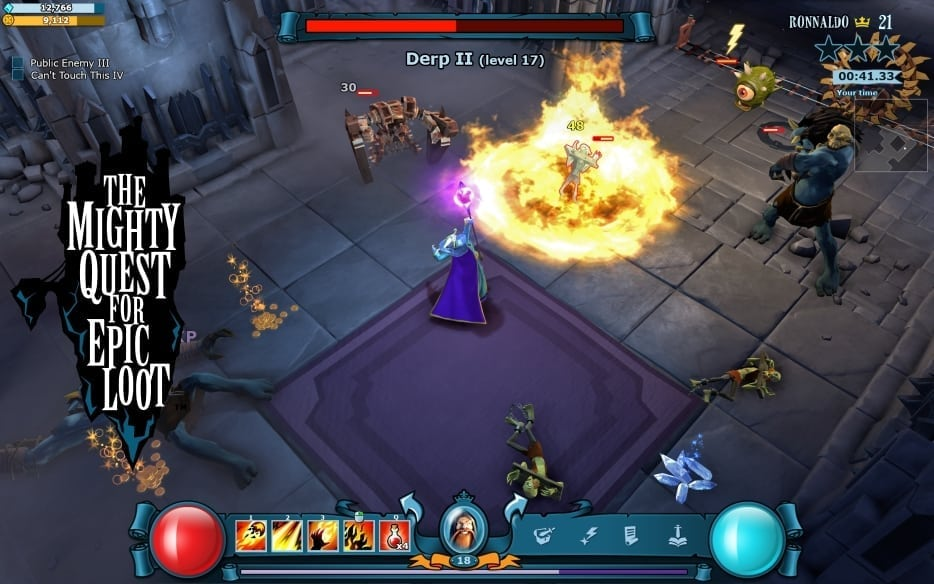 The Mighty Quest for Epic Loot - Mage screenshot