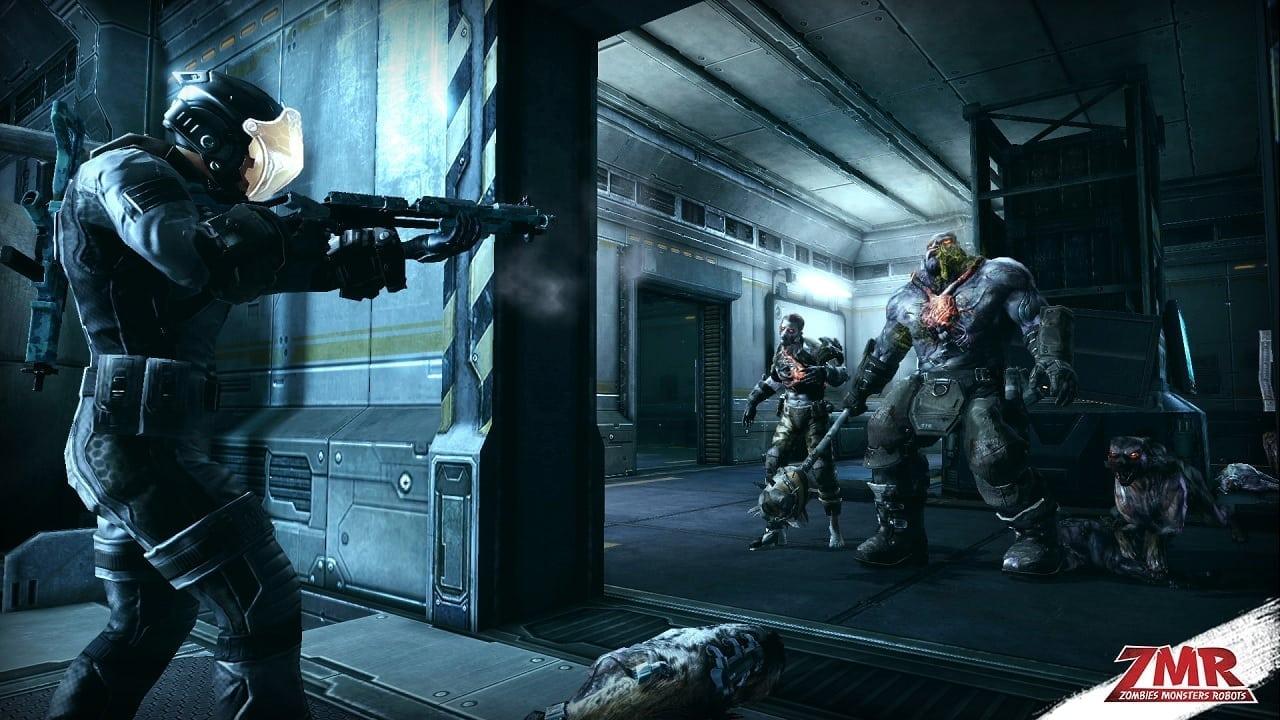 Zombies Monsters Robots screenshot