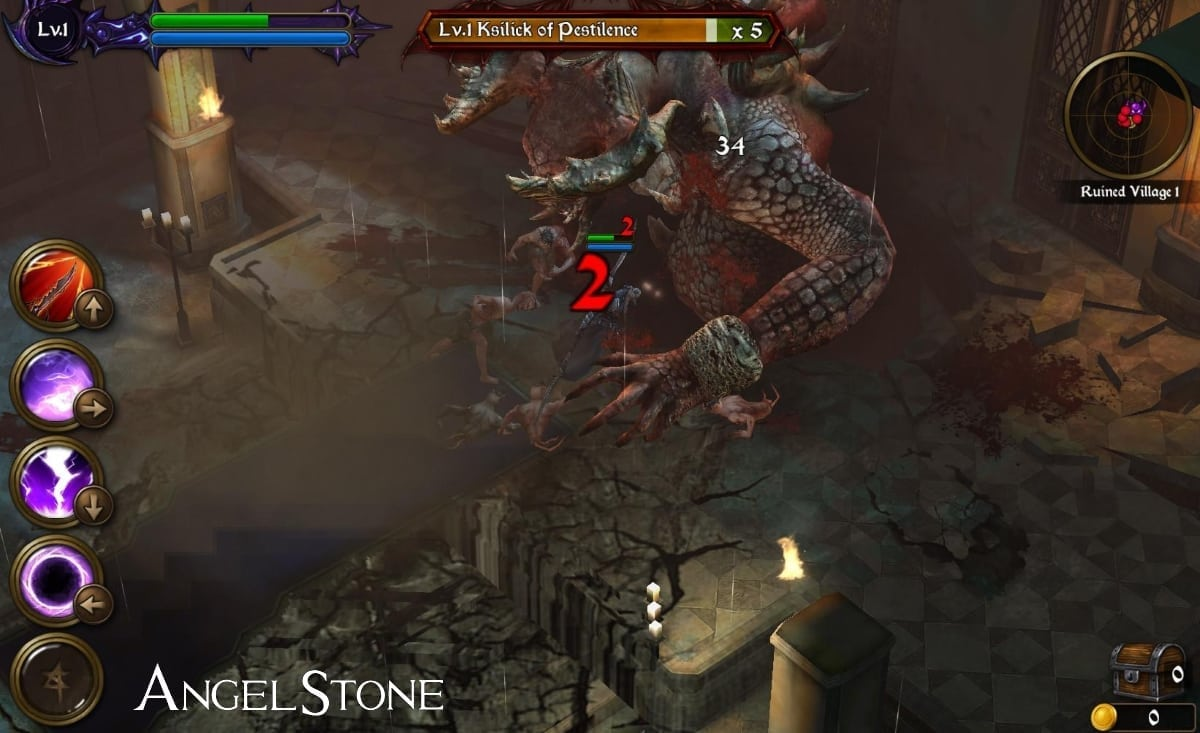 Angel Stone screenshot 1