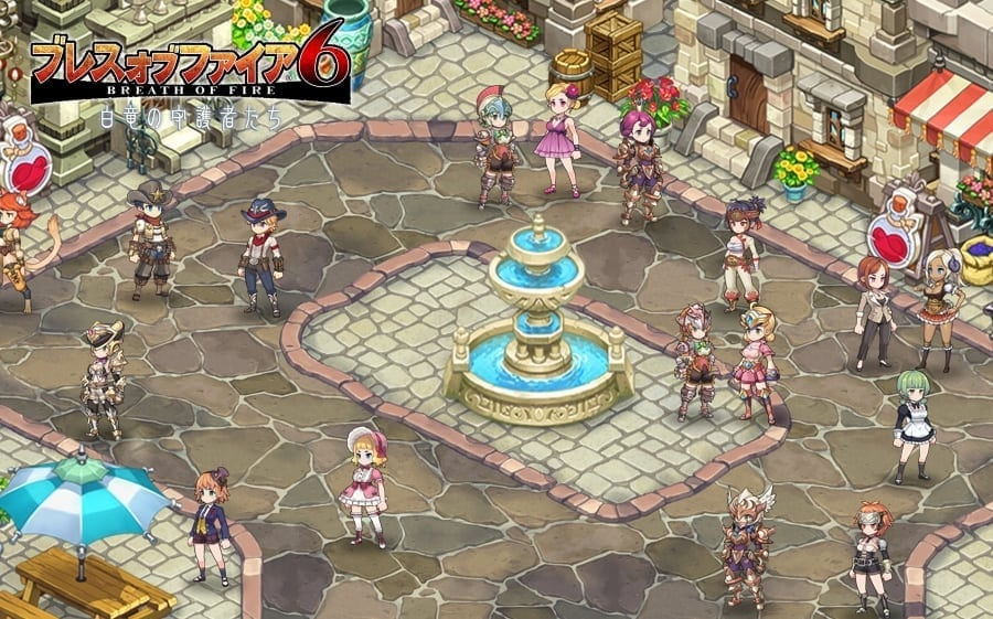 Breath of Fire 6 - Multiplayer town system
