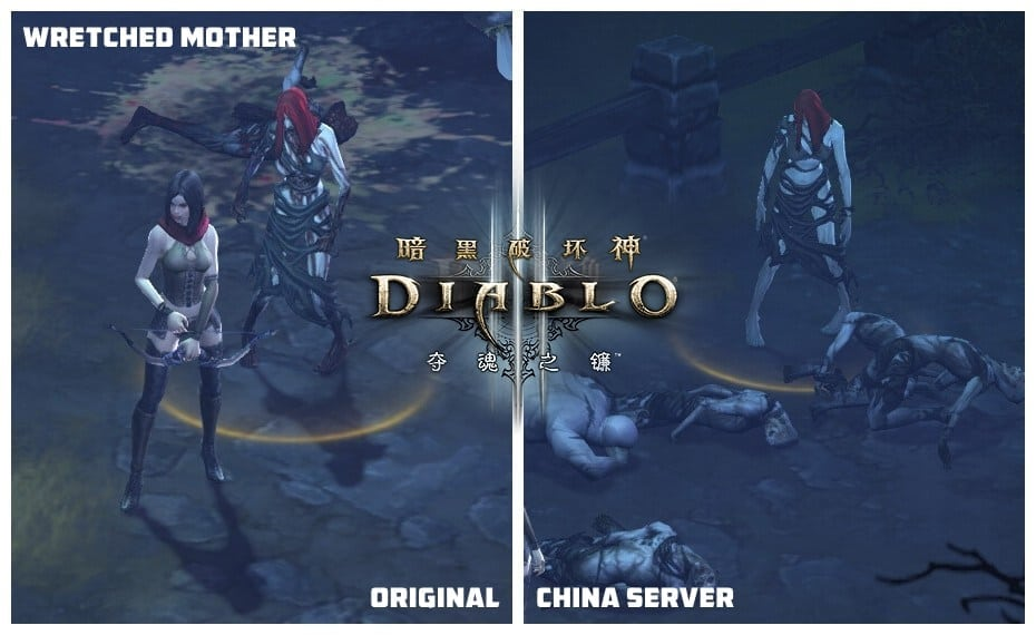 Diablo III China - Monster graphic changes 6
