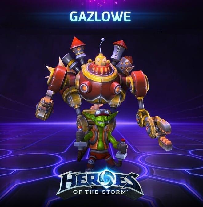 Heroes of the Storm - Gazlowe