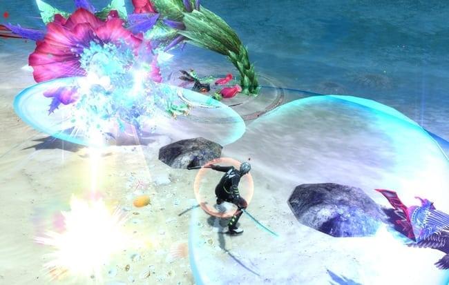 Phantasy Star Online 2 - Katana skills