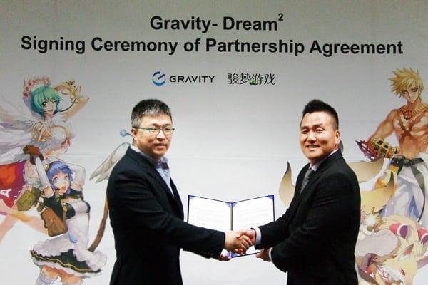 Ragnarok Online 2 China signing ceremony