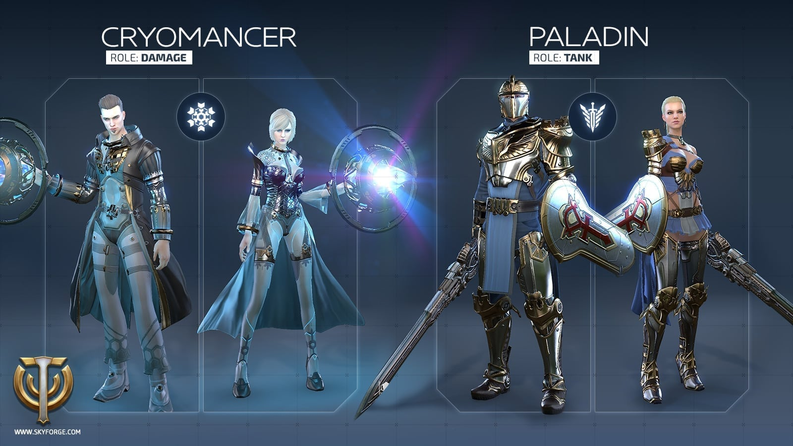 Skyforge - Launch classes 1