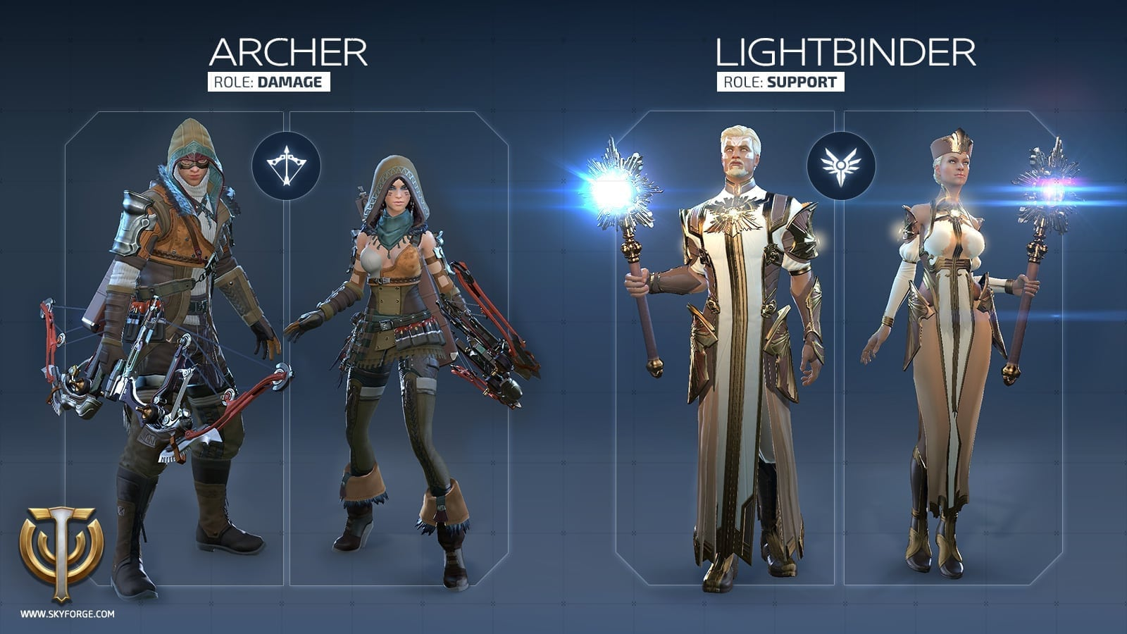 Skyforge - Launch classes 2
