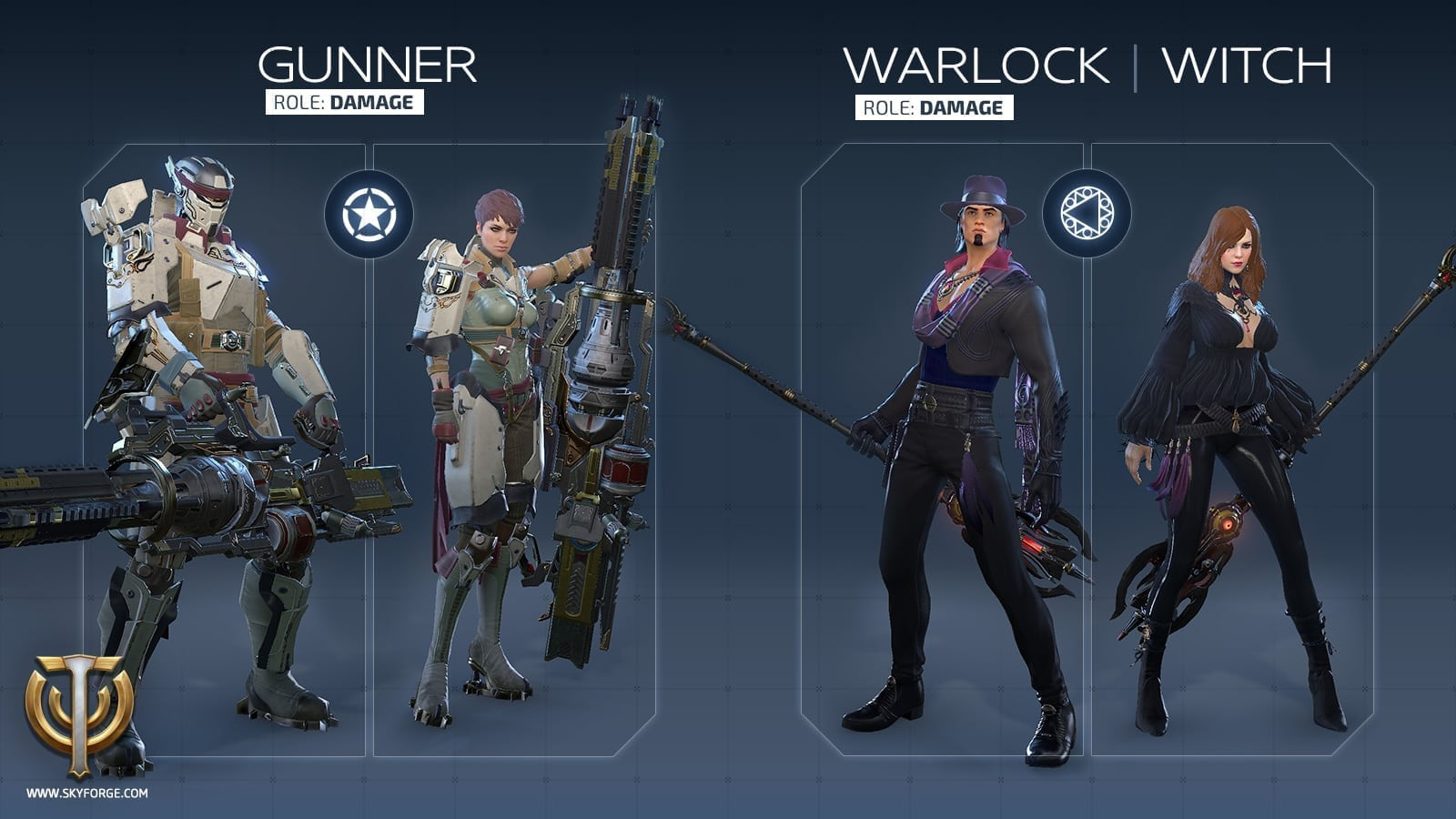 Skyforge - Launch classes 3