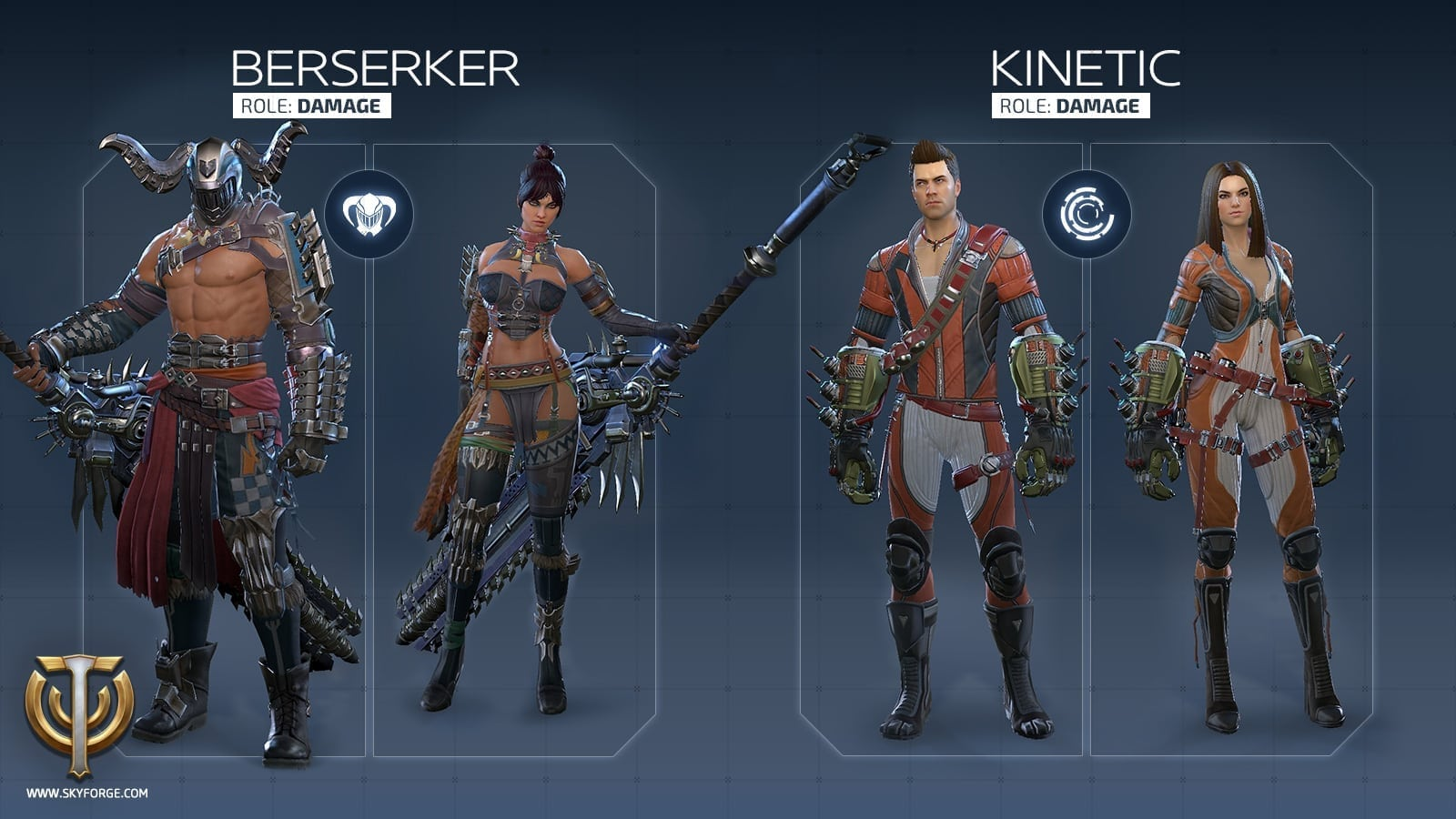 Skyforge - Launch classes 4
