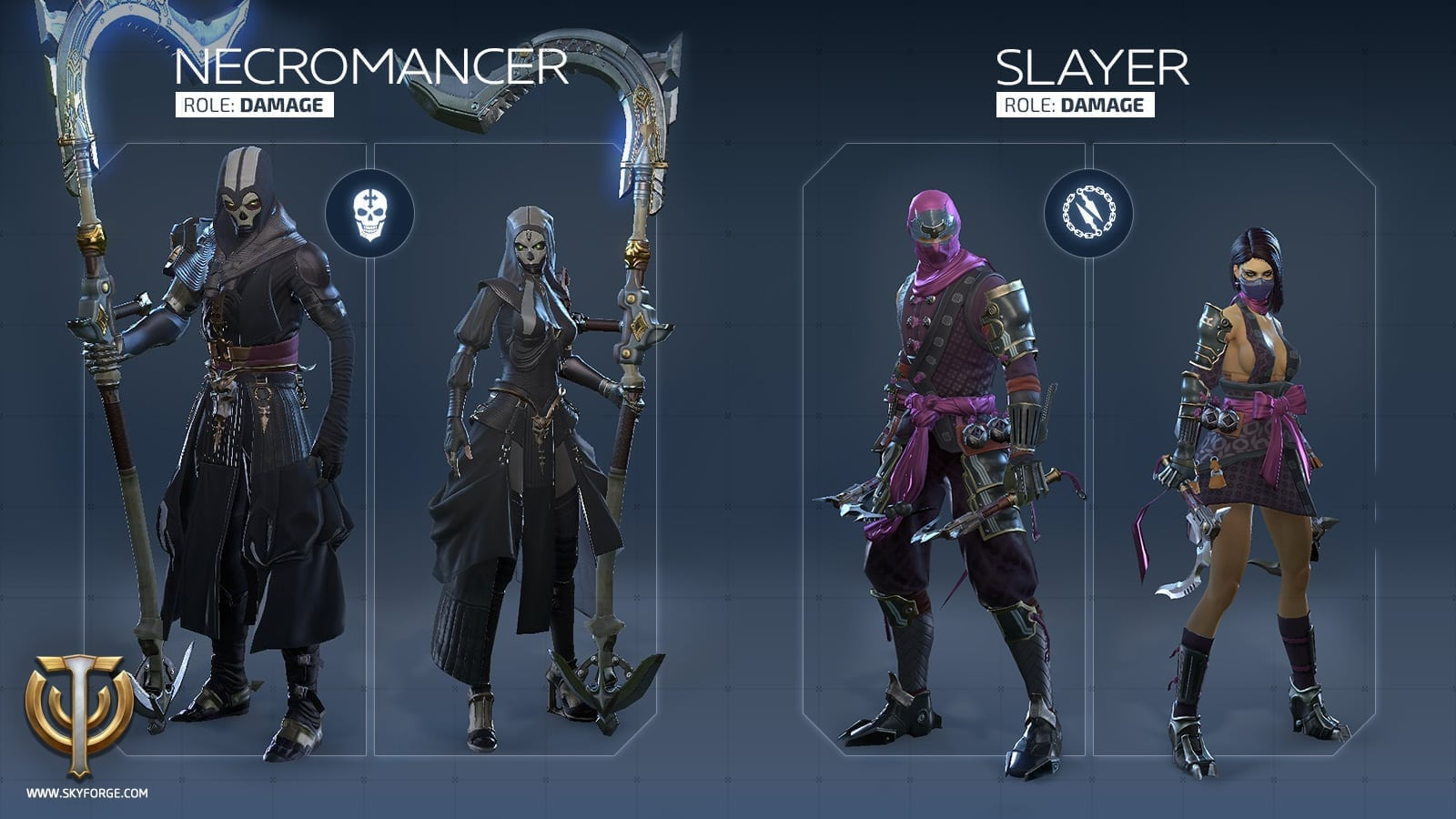 Skyforge - Launch classes 5