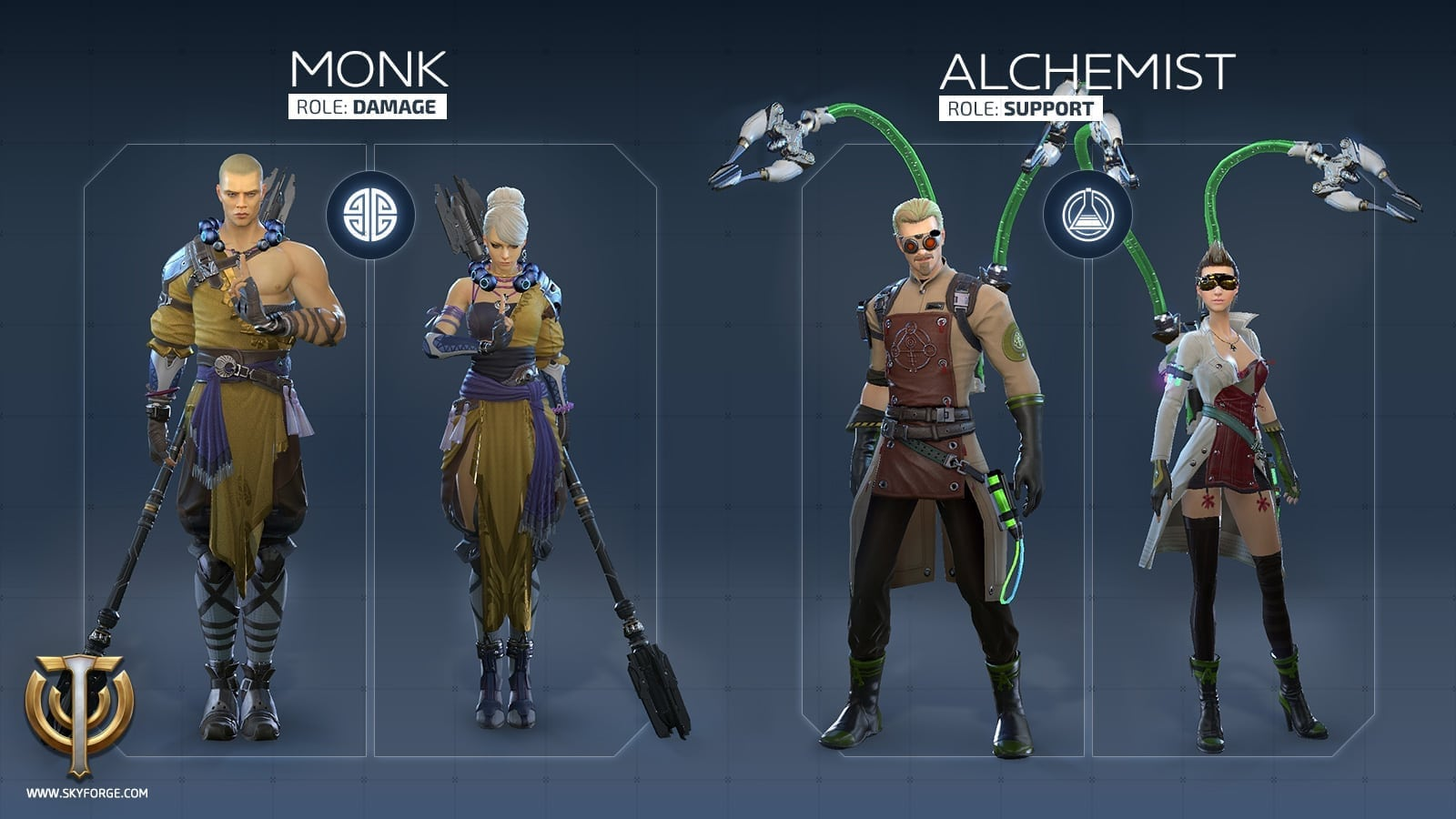 Skyforge - Launch classes 6