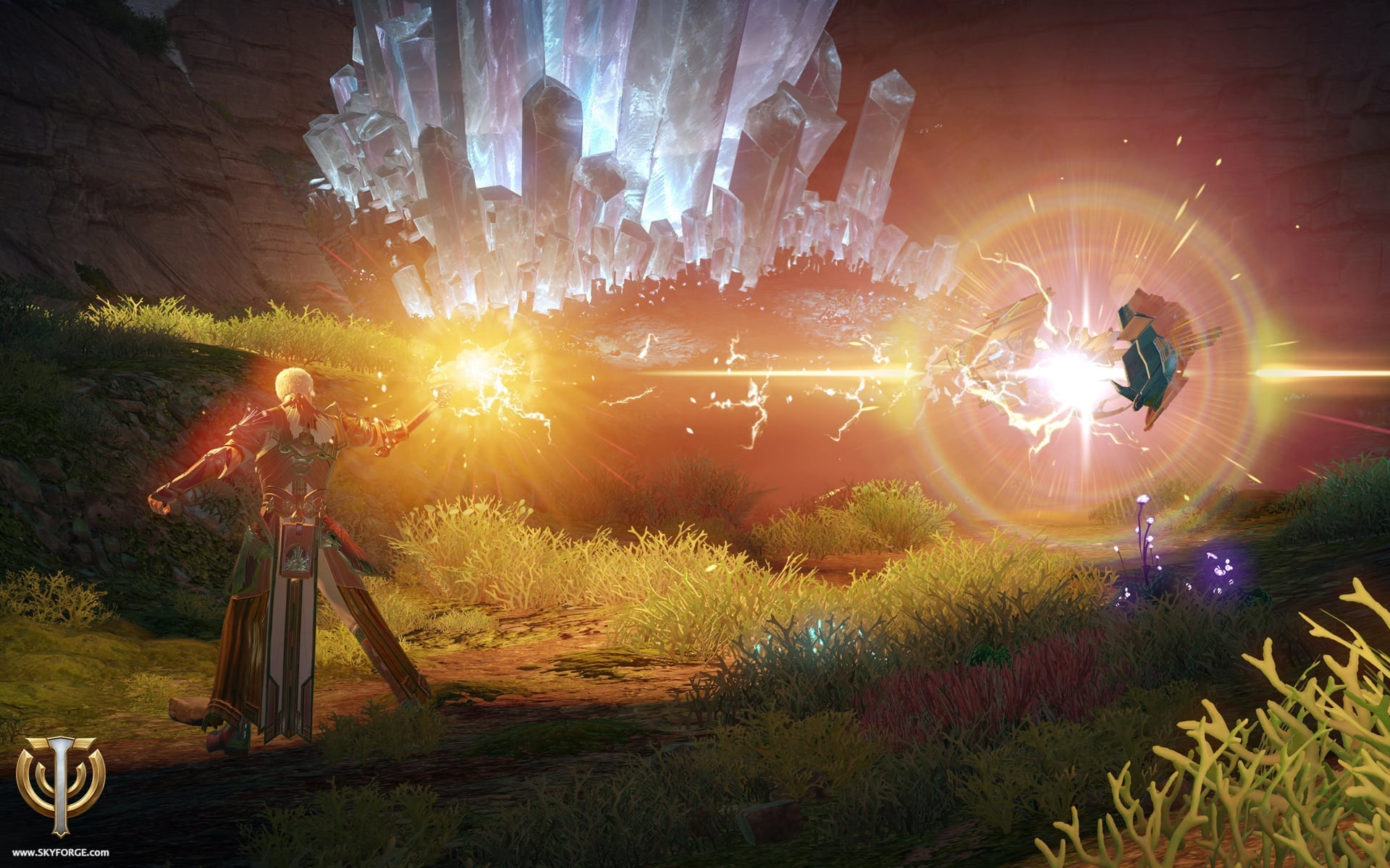 Skyforge - Lightbinder screenshot 1