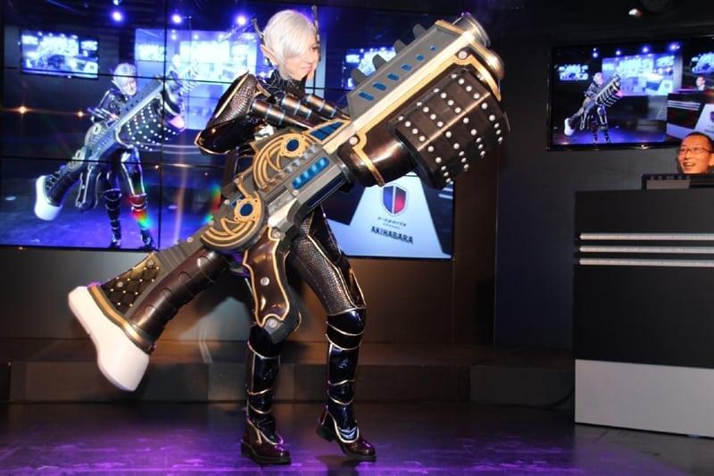 TERA Japan - Heavy Gunner cosplay 1