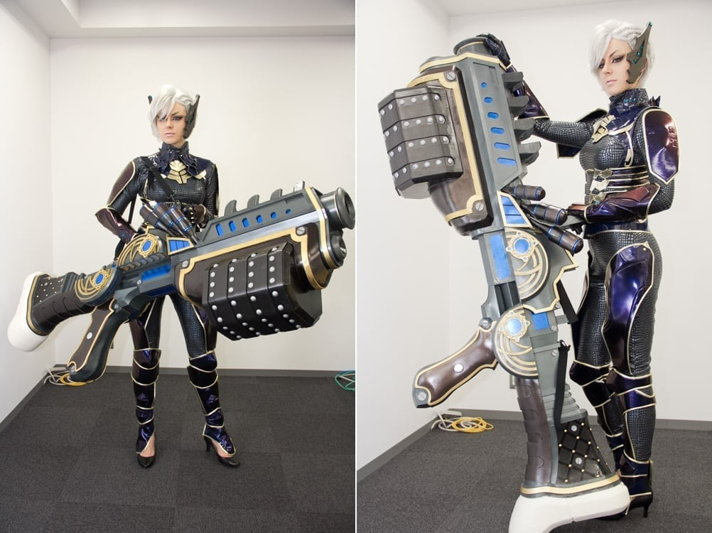 TERA Japan - Heavy Gunner cosplay 2