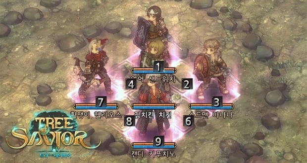 Tree of Savior - Centurion formation